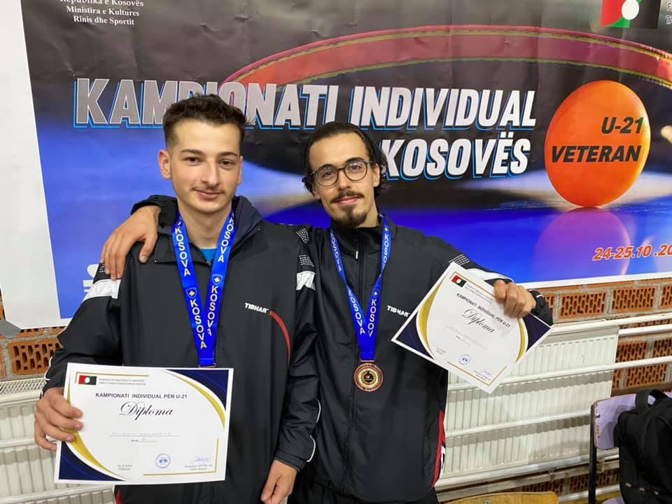 KPP Priping me dy medale në Kampionatin Individual të Kosovës U21