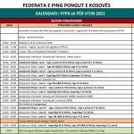 Ndryshon kalendari i garave të FPPK-së